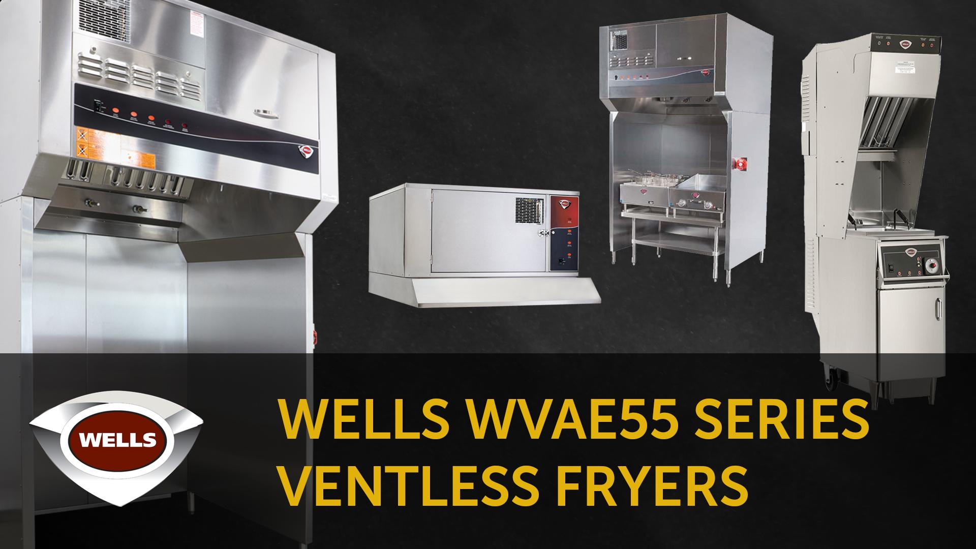 Wells WVAE55 Ventless Fryer